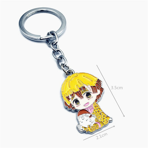 Demon Slayer Keychain <br>Cute Zenitsu