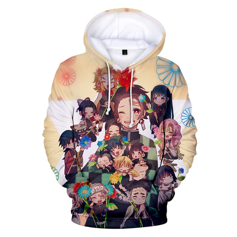 Demon Slayer Hoodie <br>All Characters