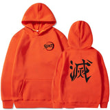 Demon Slayer Hoodie <br>Destroy Kanji
