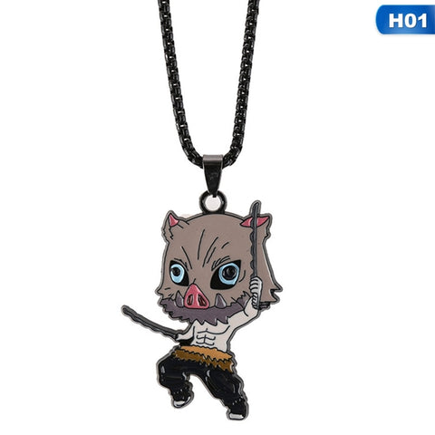 Demon Slayer Necklace <br>Inosuke Hashibira (Boar)