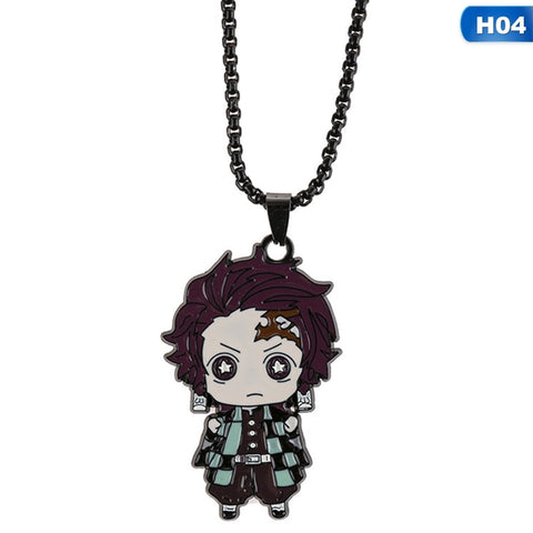 Demon Slayer Necklace <br>Tanjiro Kamado