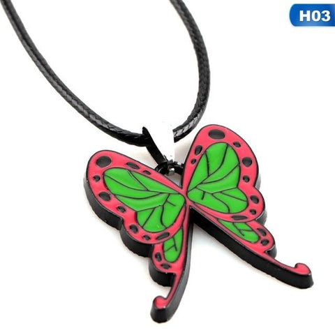 Demon Slayer Necklace <br>Shinobu Kocho Butterfly