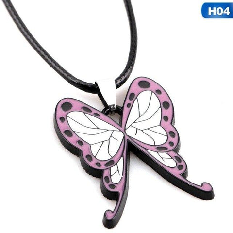 Demon Slayer Necklace <br>Kanae Butterfly