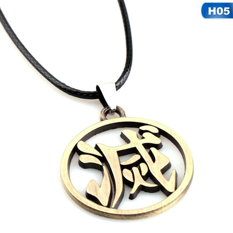 Demon Slayer Necklace <br>Destroy Kanji