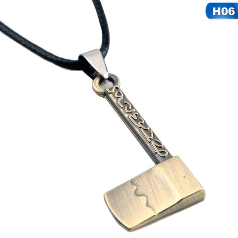 Demon Slayer Necklace <br>Tanjiro Hatchet