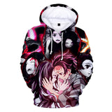Demon Slayer Hoodie <br>Tanjiro and Nezuko