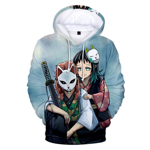 Demon Slayer Hoodie <br>Sabito and Makomo
