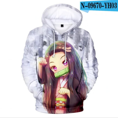 Demon Slayer Hoodie <br>Nezuko Small Form