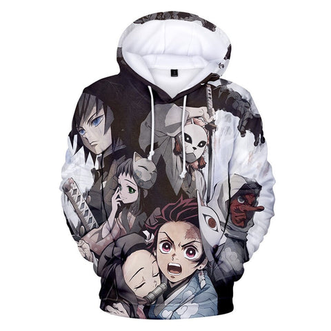 Demon Slayer Hoodie <br>Urokodaki Students