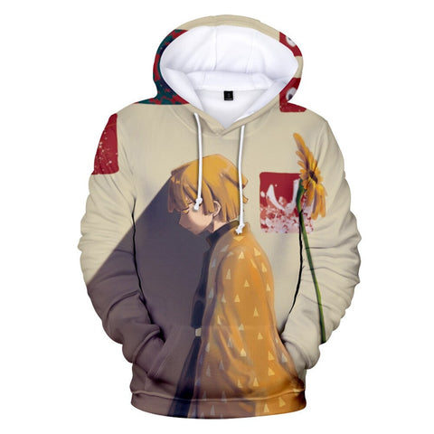 Demon Slayer Hoodie <br>Zenitsu Anime