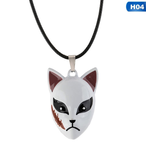 Demon Slayer Necklace <br>Sabito Fox Mask