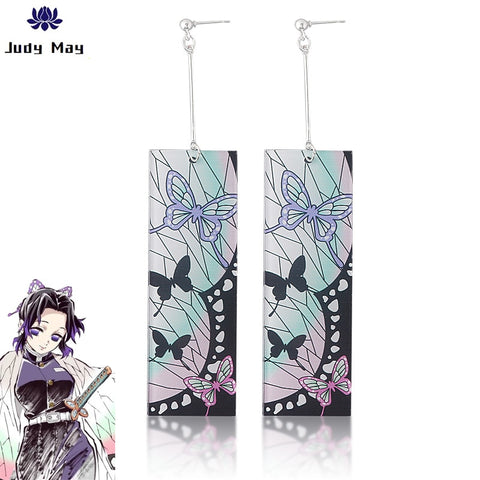 Demon Slayer Earrings <br>Shinobu Kocho