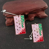 Demon Slayer Earrings <br>Nezuko Design