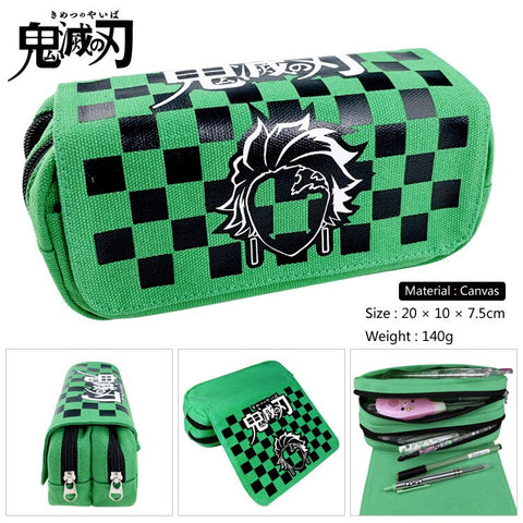 Demon Slayer Pencil Case <br>Tanjiro Pattern