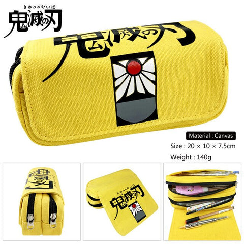 Demon Slayer Pencil Case <br>Hanafuda