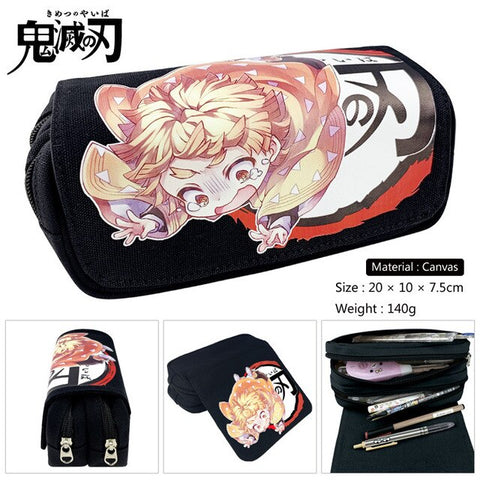 Demon Slayer Pencil Case <br>Zenitsu Agatsuma