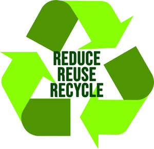 Reduce, reuse, recycle (ft. our cardboard tube packaging)