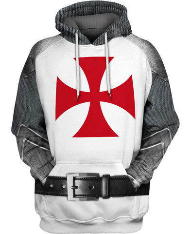 Knight Armor Hoodie A004
