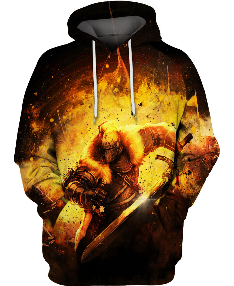 Fascinating Rising Knight Hoodie