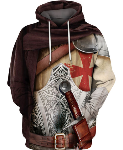 Knight Armor Hoodie A002