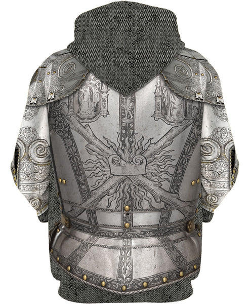 Knight Armor Hoodie A007