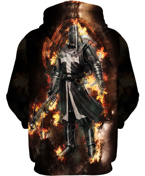 Glamorous Fire Knight Hoodie