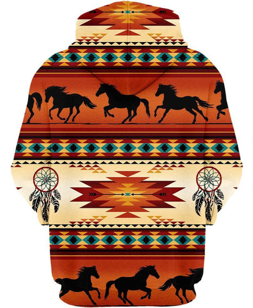 Native Horse Pattern