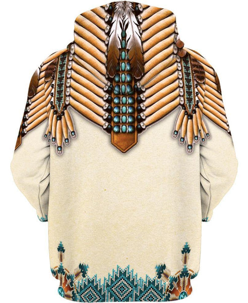 White Bead Native Chief