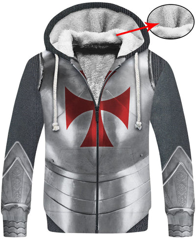 Knight Armor Hoodie A001