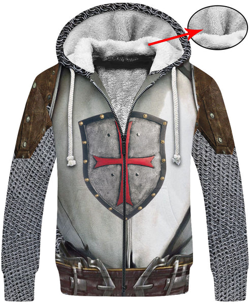Knight Armor Hoodie A003