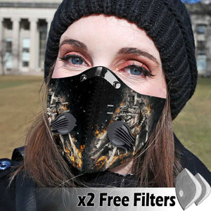 Activated Carbon Filter PM2.5 - Christian Mask 06