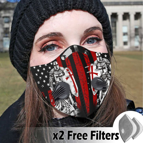 Activated Carbon Filter PM2.5 - Christian Mask 015