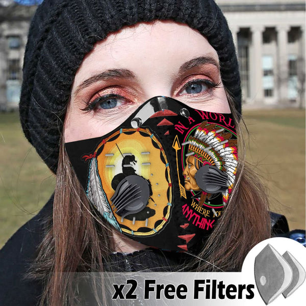 Activated Carbon Filter PM2.5 - Native Mask 35