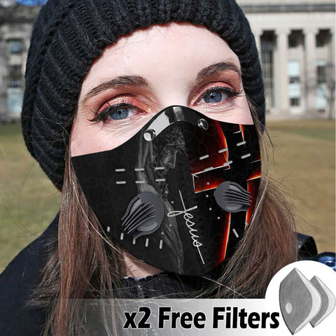 Activated Carbon Filter PM2.5 - Christian Mask 009