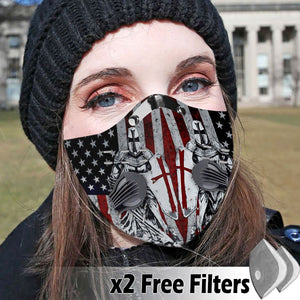 Activated Carbon Filter PM2.5 - Christian Mask 17