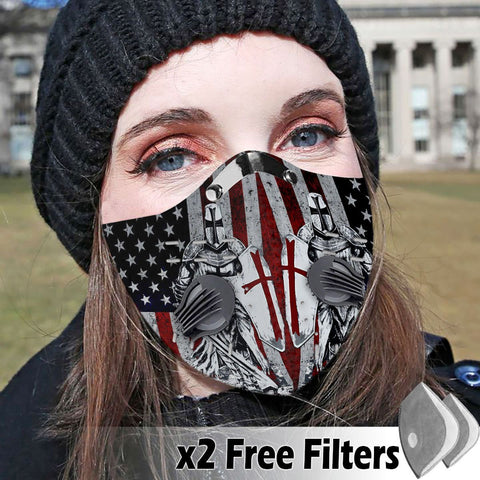 Activated Carbon Filter PM2.5 - Christian Mask 017