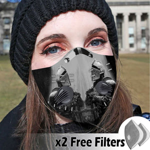 Activated Carbon Filter PM2.5 - Christian Mask 13