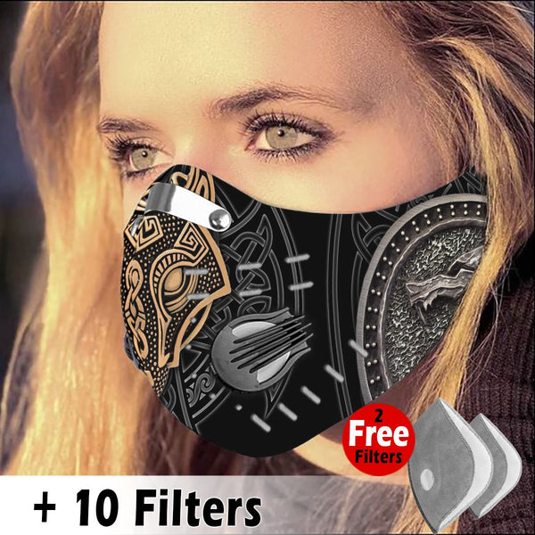 Viking Velcro Mask 003