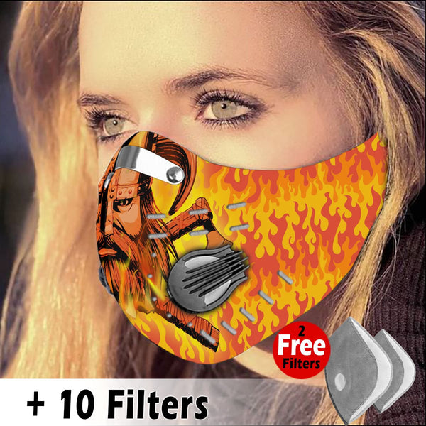 Activated Carbon Filter PM2.5 - Viking Mask 54