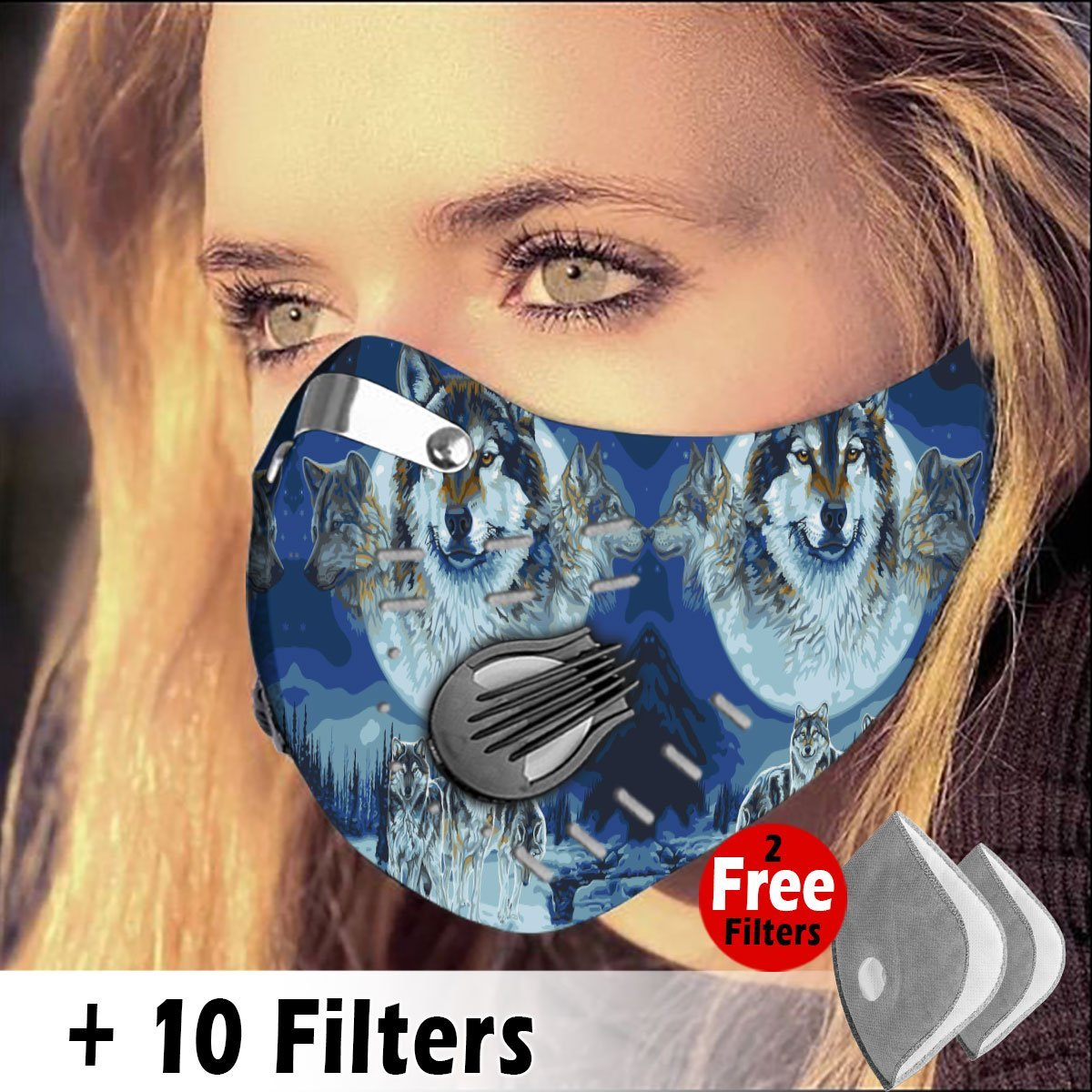 Activated Carbon Filter PM2.5 - Native Mask 03