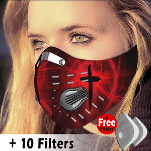 Activated Carbon Filter PM2.5 - Christian Mask 07