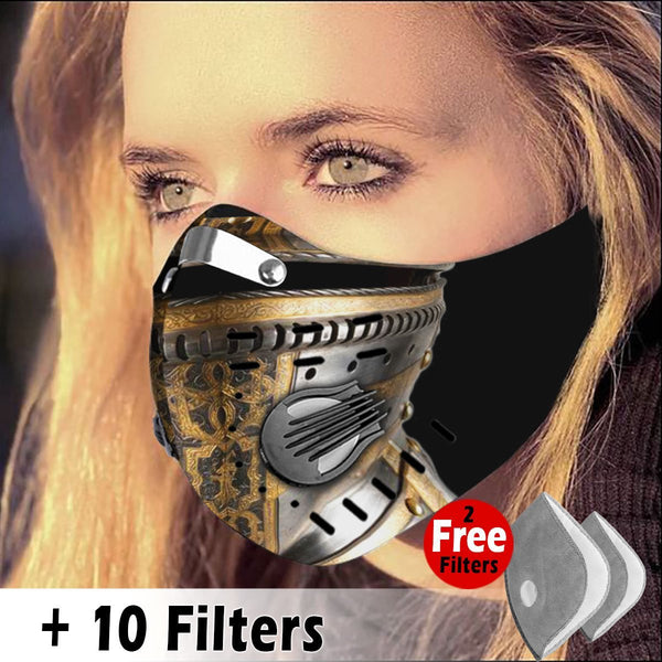 Activated Carbon Filter PM2.5 - Christian Mask 25