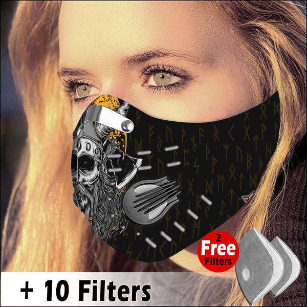 Activated Carbon Filter PM2.5 - Viking Mask 01