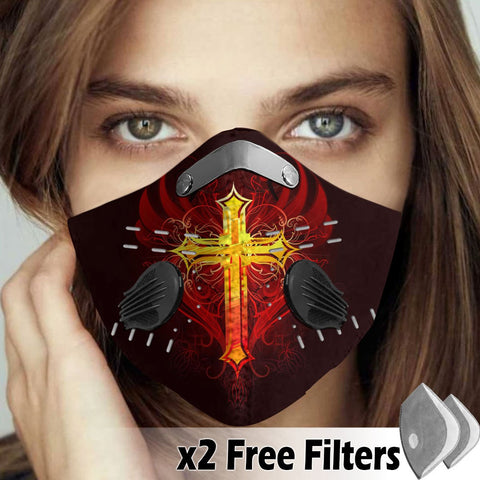 Activated Carbon Filter PM2.5 - Christian Mask 41