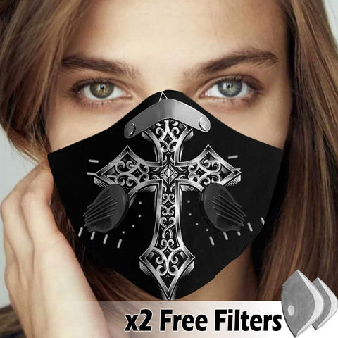 Activated Carbon Filter PM2.5 - Christian Mask 34
