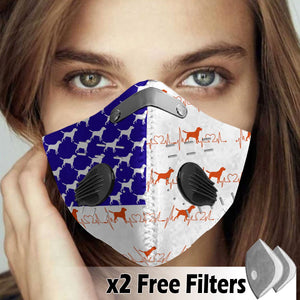 Activated Carbon Filter PM2.5 - Dog Mask 01