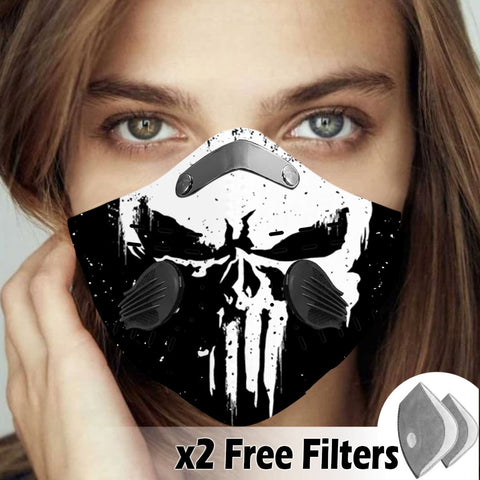 Activated Carbon Filter PM2.5 - Skull Mask 15
