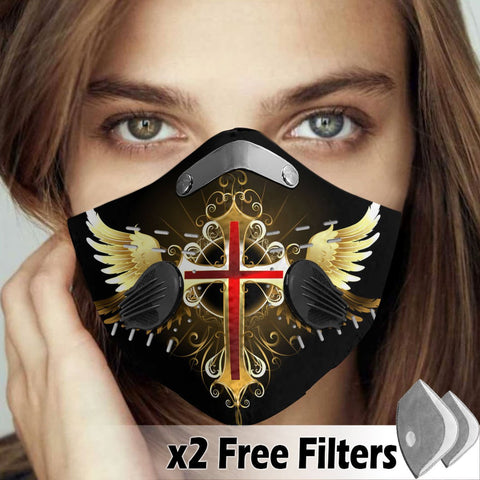 Activated Carbon Filter PM2.5 - Christian Mask 026