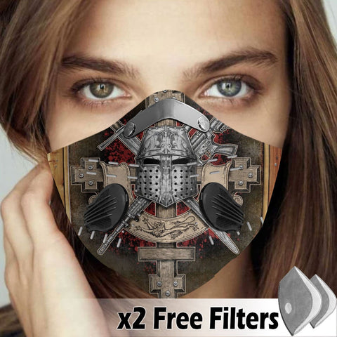 Activated Carbon Filter PM2.5 - Christian Mask 42