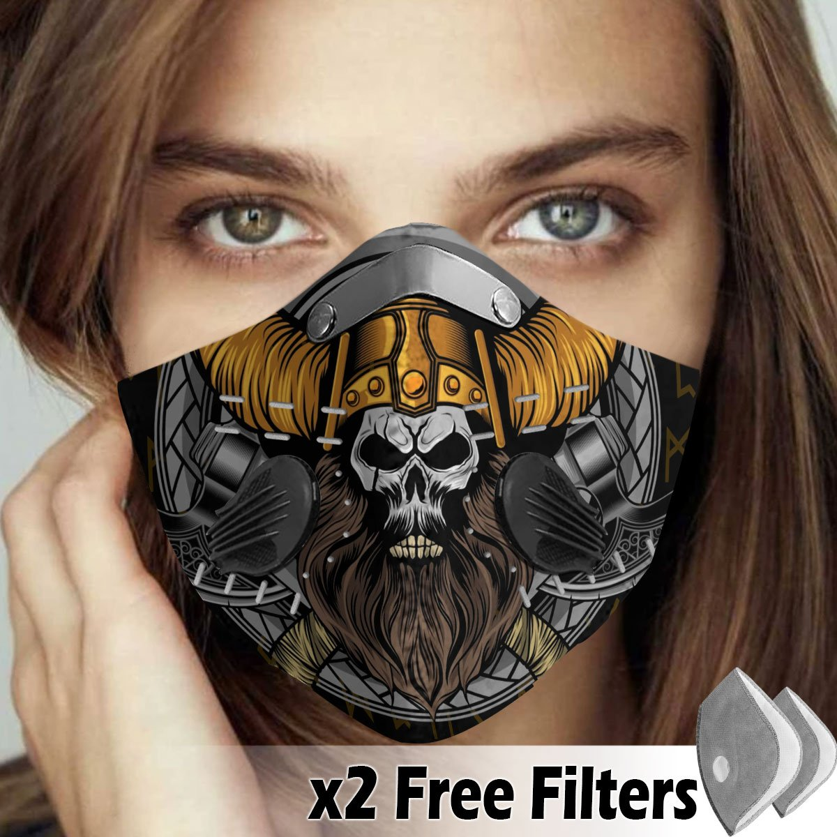 Viking Velcro Mask 022